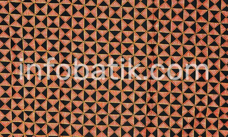 Batik Indonesia Yogjakarta Motif Slobog