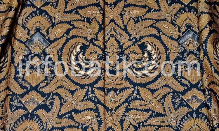 Batik Indonesia Banyumas Motif Semen Klewer