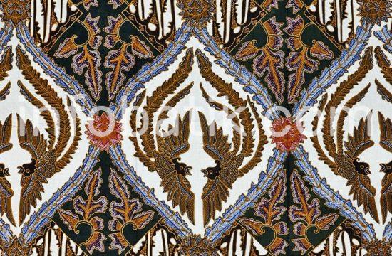 Batik Indonesia Surakarta Motif Sawunggaling