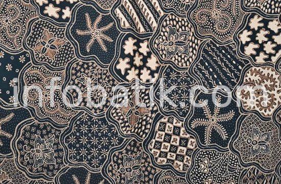 Batik Indonesia Yogjakarta Motif Sekar Jagad