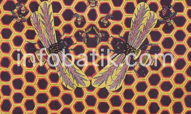 Batik Indonesia Motif Lebah