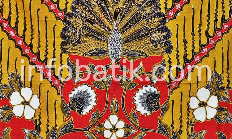Batik Indonesia Motif Merak