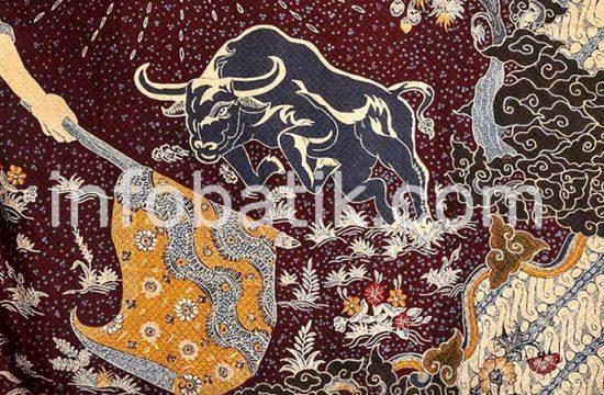 Batik Indonesia Motif Banteng