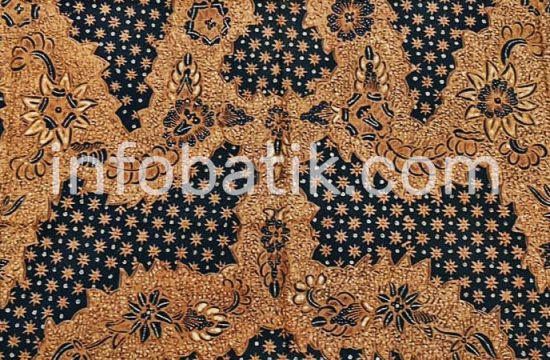 Batik Indonesia Solo Motif Truntum Buntal