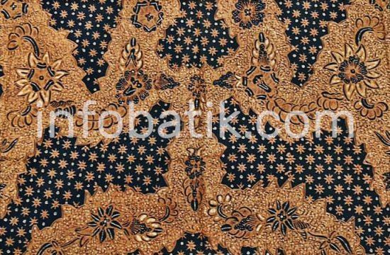 Batik Indonesia Solo Motif Truntum Buntal