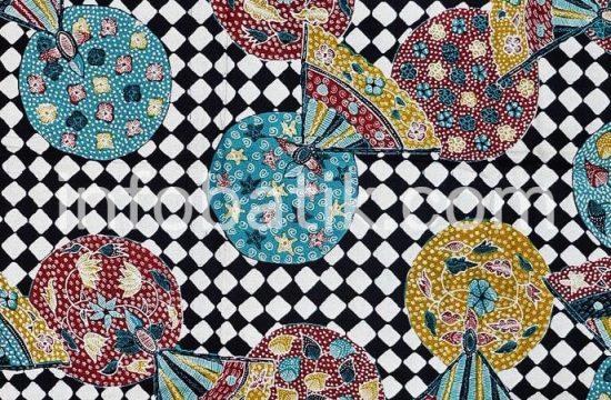 Batik Indonesia Motif Kipas