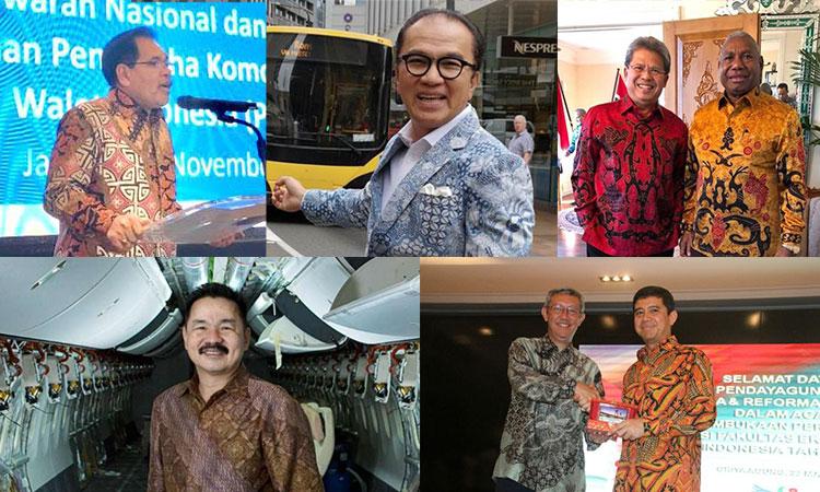 5 duta besar indonesia dan batiknya