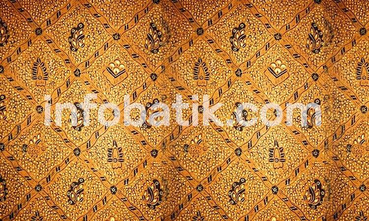 the meaning of Indonesian batik motif sido mukti