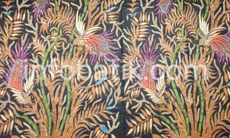 Arti Batik Indonesia Motif Pring Sedapur Jawa Timur