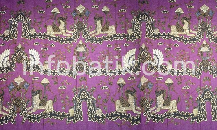 Arti Batik Indonesia Motif Singa Barong Jawa Barat