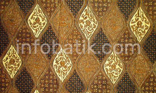 Indonesian Batik Motif Sido Drajad
