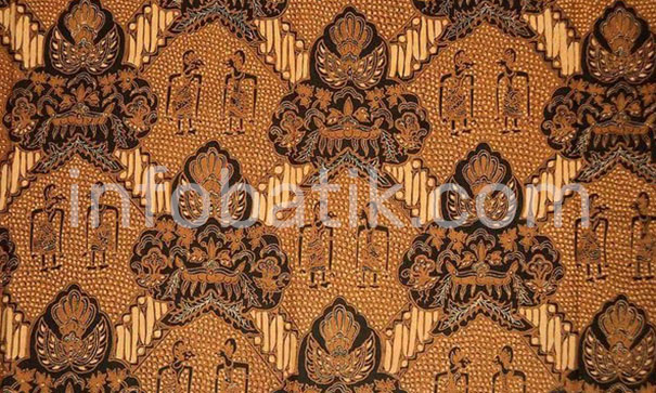 Indonesian Batik with Ciptoning Motif