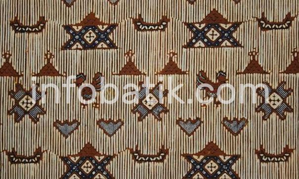 Indonesian Batik Motif Ayam Puger