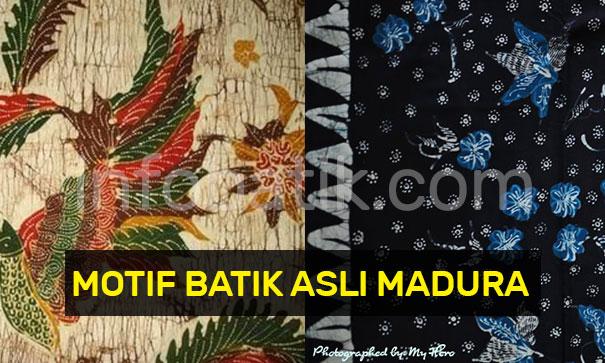 Motif Batik Asli Madura