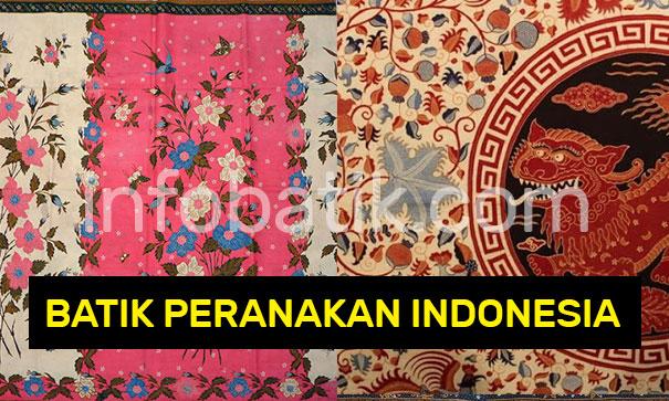 Batik Peranakan Indonesia