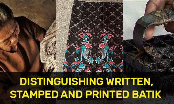 Distinguishing Written, Stamped and Printed Batik
