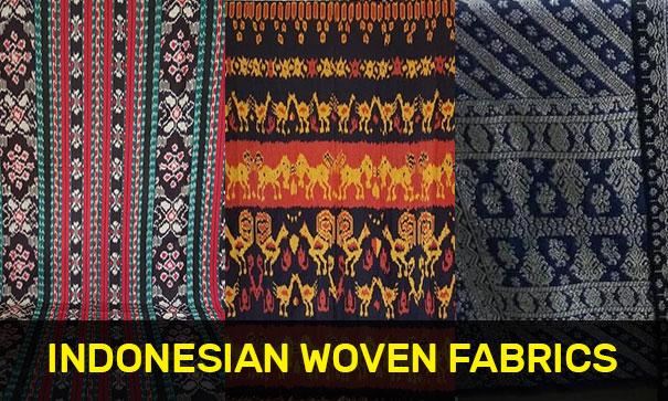 Indonesian woven fabrics