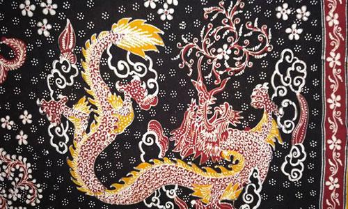 Batik Lasem Motif Naga