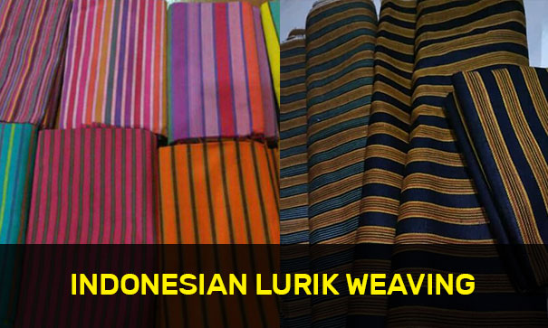 Indonesian Lurik Weaving