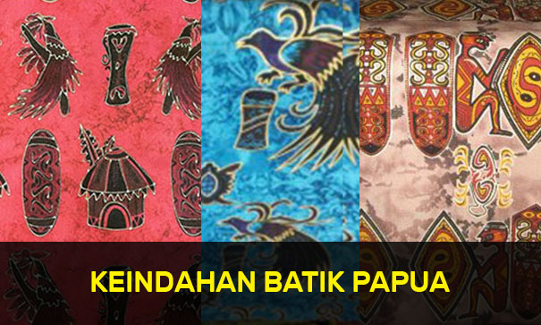 Keindahan Batik Papua