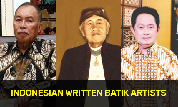Indonesian Written Batik Artists