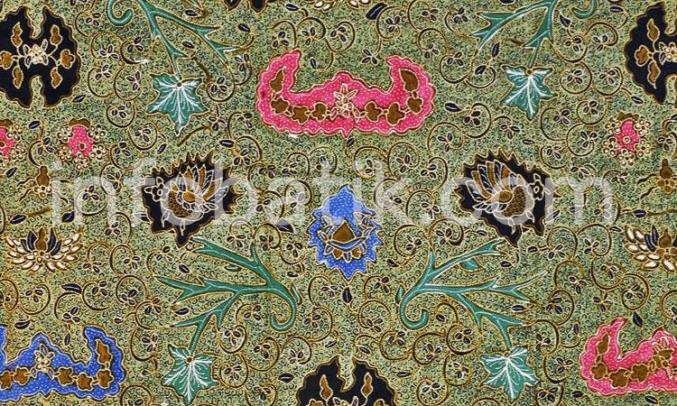 Batik Indonesia Yogjakarta Motif Wahyu Temurun