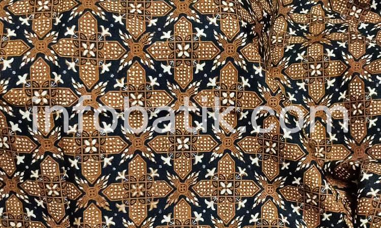 Batik Indonesia Jawa Motif Madu Bronto