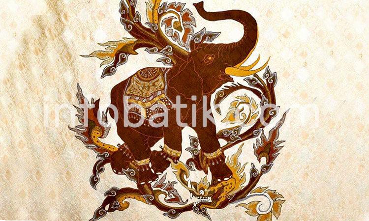 Batik Indonesia Motif Gajah