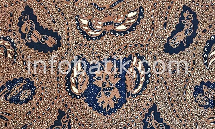 Batik Indonesia Motif Semen Rante