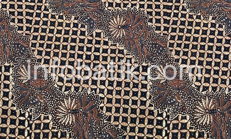 Batik Indonesia Solo Kusumo Beras Wutah