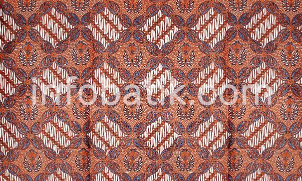 Indonesian Batik Motif Prabu Anom