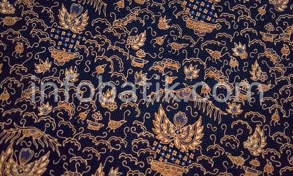 Indonesian Batik Motif Cuwiri