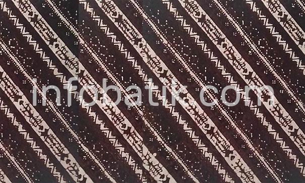 Indonesian Batik Motif Rujak Senthe