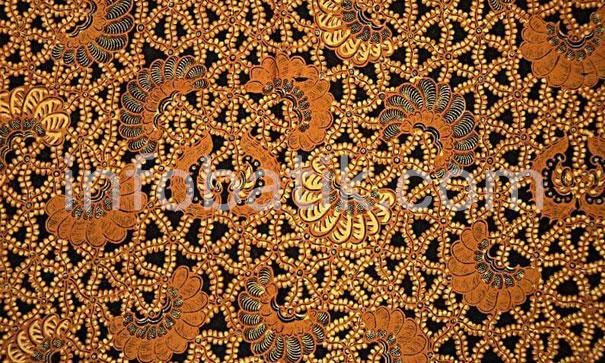 Indonesian Batik Motif Yuyu Sekandang