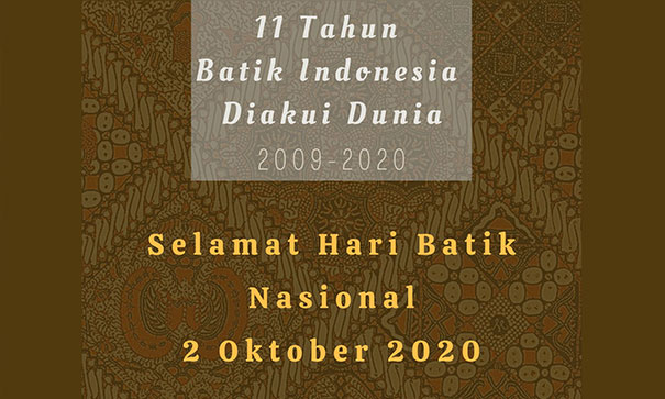Indonesian Batik is Recognized by The World