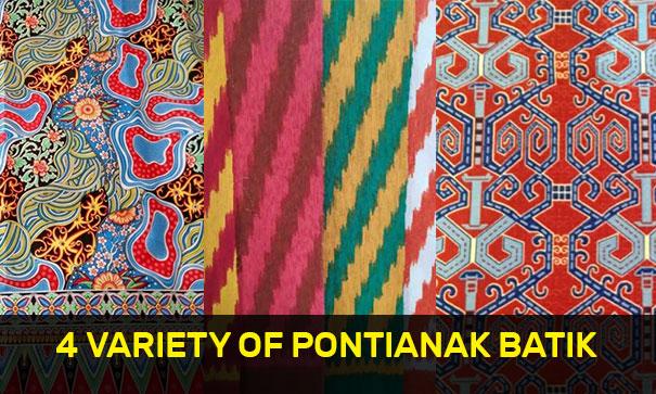 4 Variety of Pontianak Batik