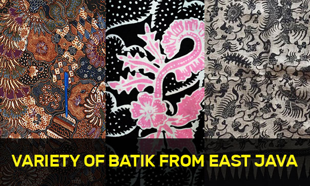 Variety of Batik from East Java