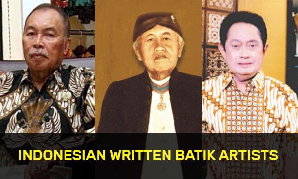 Indonesian Written Batik Artists