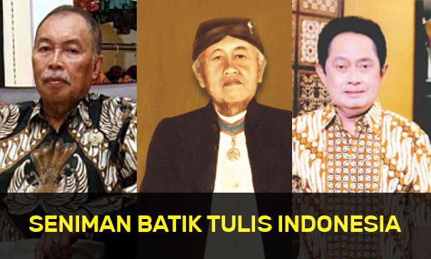 Seniman Batik Tulis Indonesia